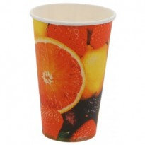 Pahar Carton Fructe D80 12oz (50 buc)