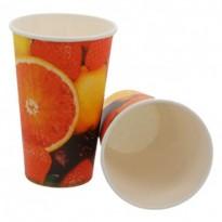 Pahar Carton Fructe D90 16oz (50 buc)