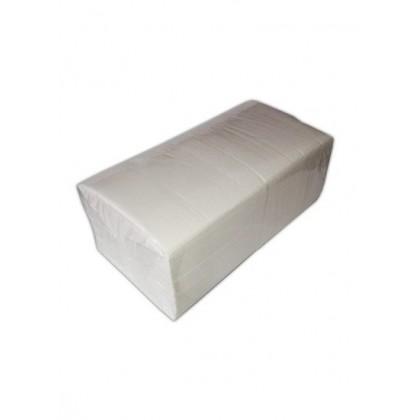Servetele masa albe 33x33 2 straturi (200 buc)