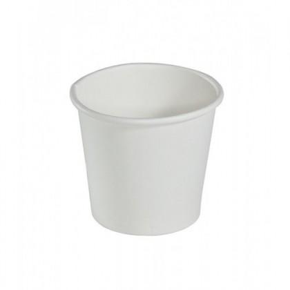 Pahar Carton Alb D62 4oz (50 buc)