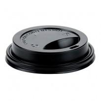Capac D80 8|12oz negru (100 buc)