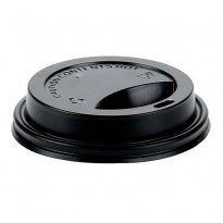 Capac D90 12oz negru (50 buc)