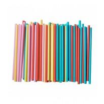Paie Jumbo Drepte Colorate (1000 buc)