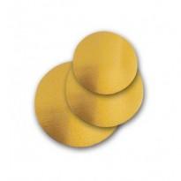 Discurii Aurii 18cm (100 buc)