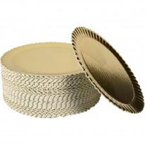 Discuri Aurii Girasole 28cm (100 buc)