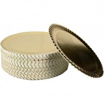 Discuri Aurii Girasole 30cm (100 buc)