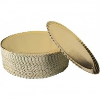 Discuri Aurii Girasole 32cm (50buc)