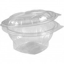 Caserola PET Rotunda 250cc (100 buc)