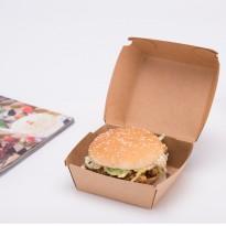 Cutie Burger Natur 12x12x8cm (50 buc)